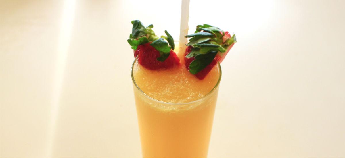 Belmont diner Libations of orange juice